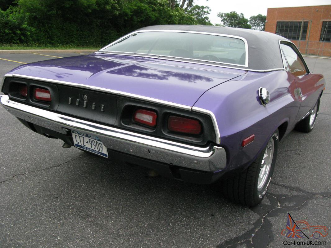 CHALLENGER DODGE DART SWINGER MOPAR SALE 1972 BIG BLOCK 383 1971 ...