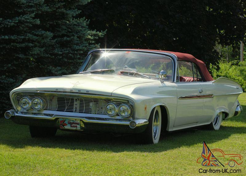1961 dodge dart phoenix convertible. Black Bedroom Furniture Sets. Home Design Ideas
