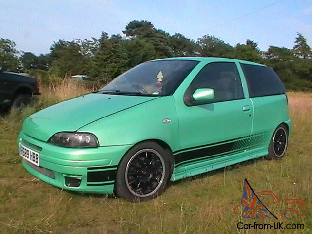 1997 fiat punto gt turquoise 1 of 300. Black Bedroom Furniture Sets. Home Design Ideas