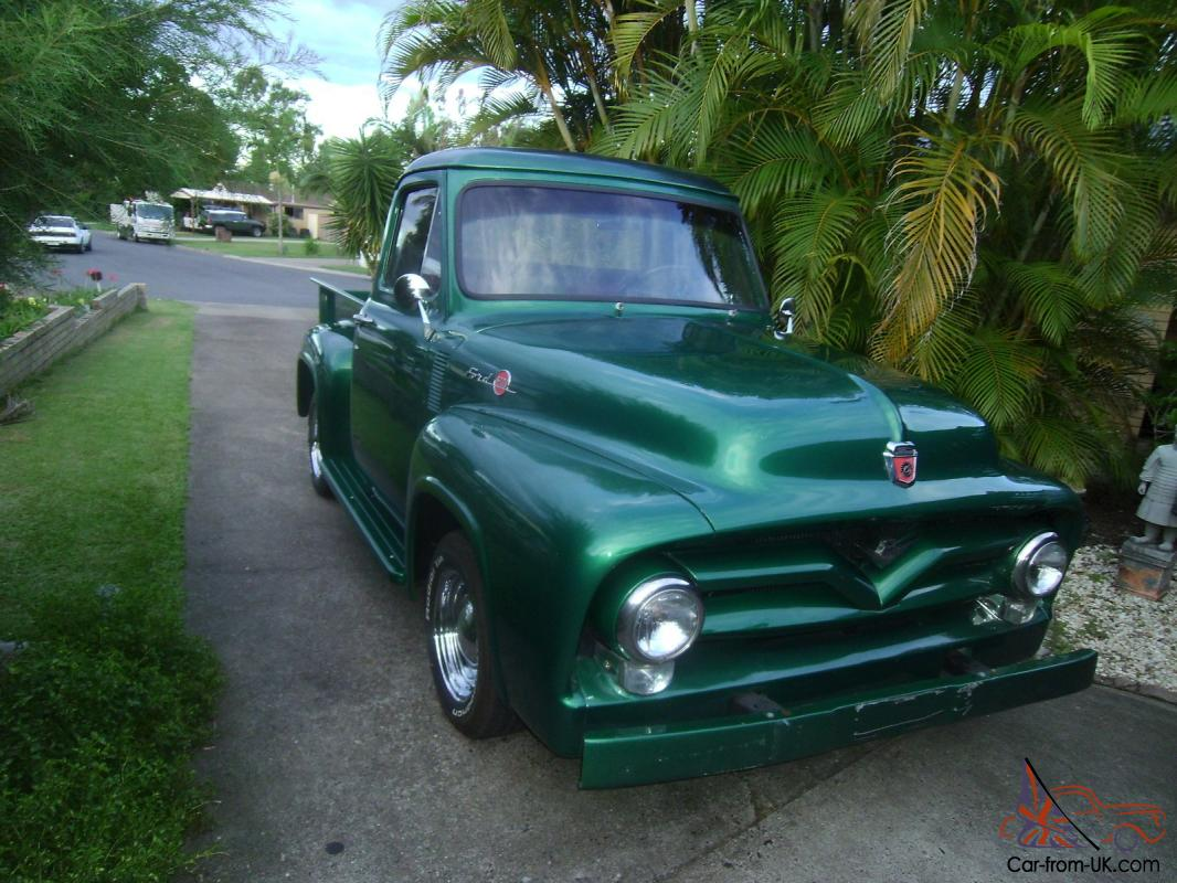 Ford F100 1955 In Brisbane Qld Pick Up Gauge Cluster Photo