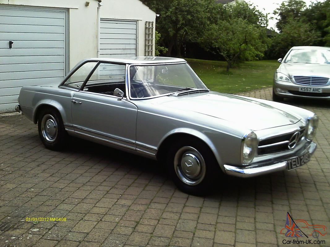 mercedes 230sl 1965 automatic for sale