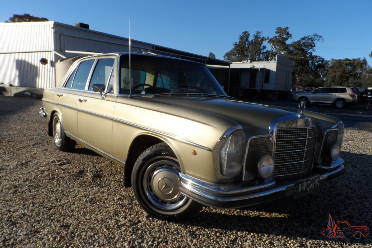 Mercedes benz 280 se 1970 4d sedan 3 sp automatic 2 8l for What country is mercedes benz from