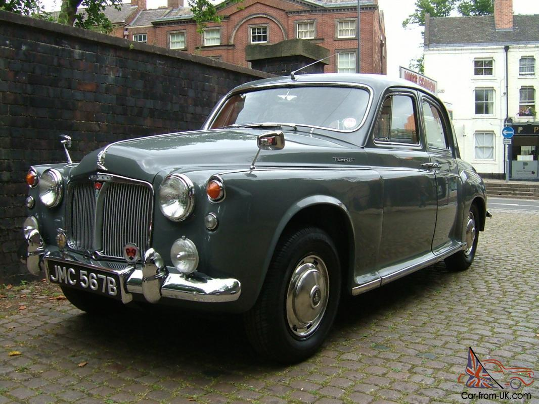 Listing All Cars >> ROVER P4 110 (1964) Three Owners