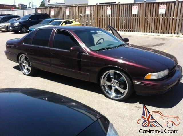 Clean 1995 Chevy Impala Ss