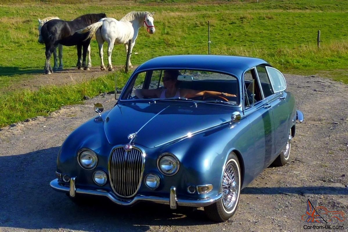 1965 jaguar 3.8s saloon automatic