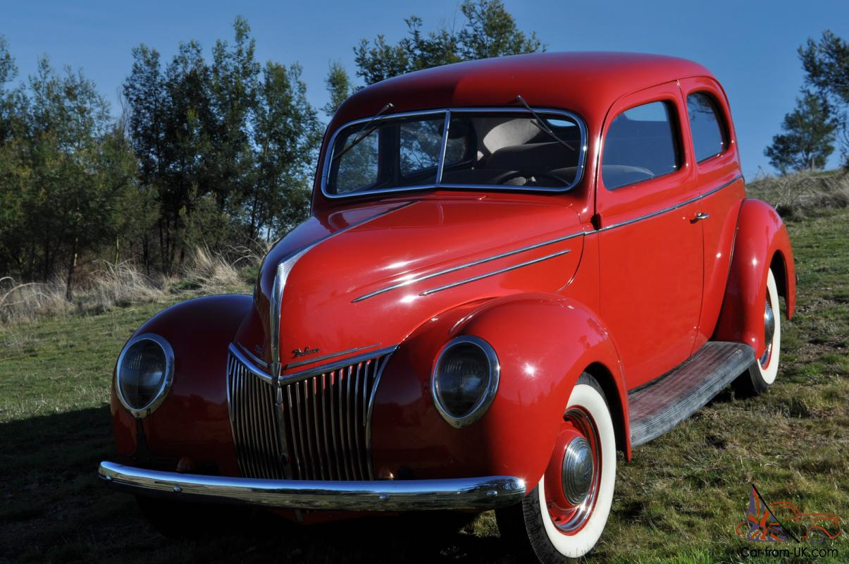 1939 ford deluxe 2 door tudor in melbourne vic for 1939 ford 2 door sedan for sale