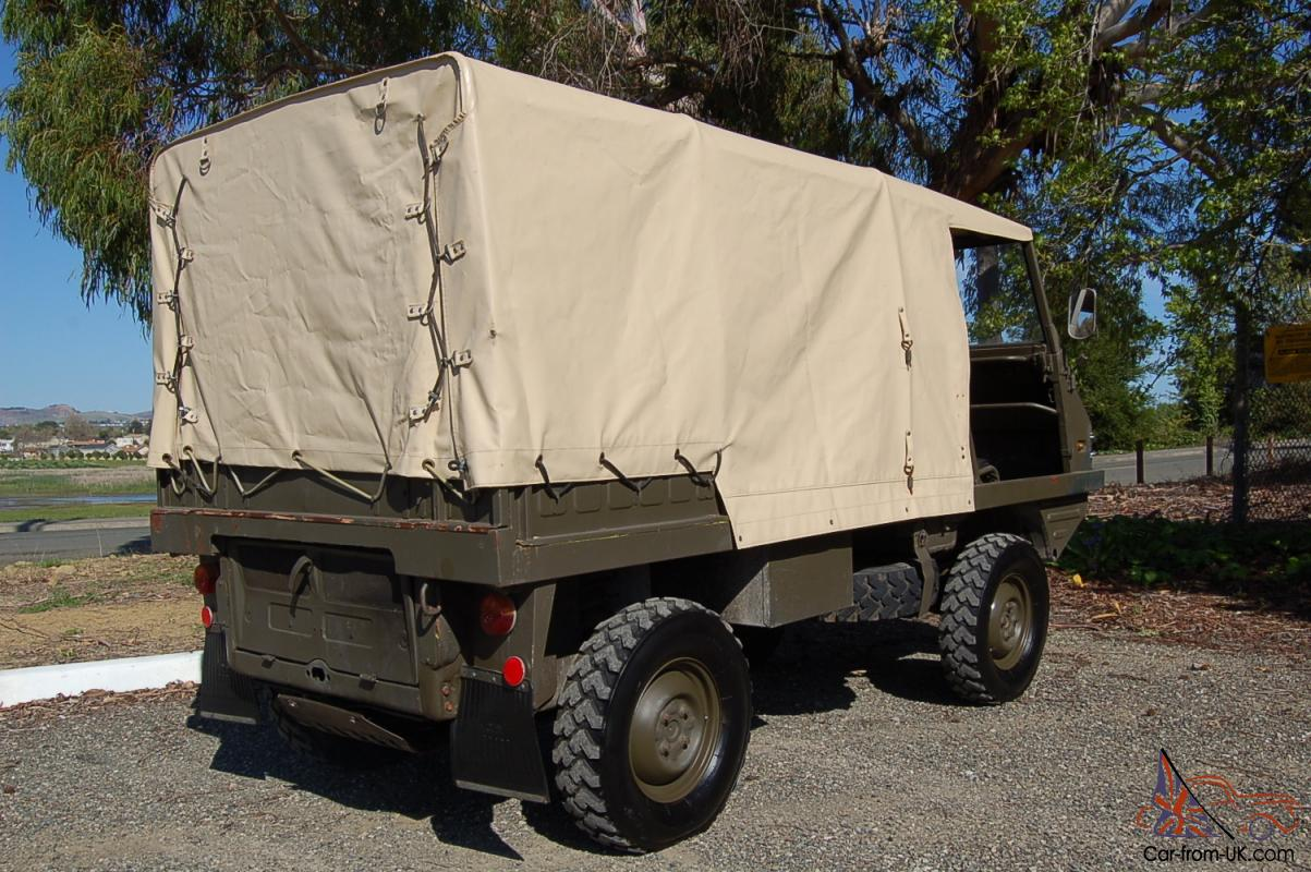 Steyr Puch Haflinger 703 Classic Mini 4x4 Air Cooled With Diff Locks