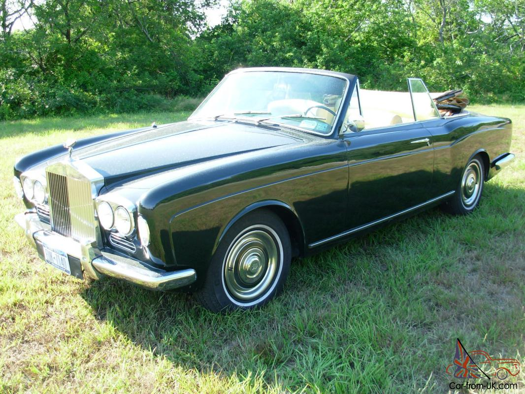 rolls royce silver shadow convertible 1967