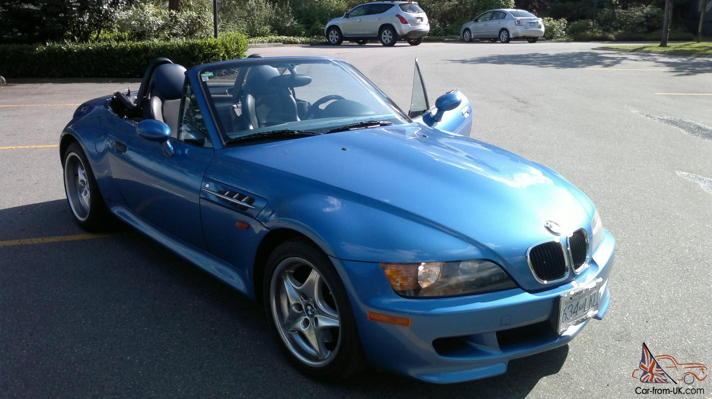 1998 Bmw Z3 M Roadster Convertible 2 Door 3 2l No Reserve