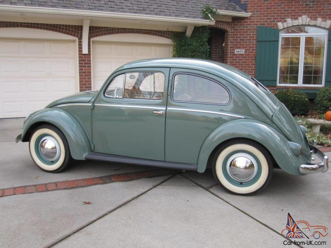 1952 volkswagen beetle split window coupe 63k original for 1952 split window vw bug
