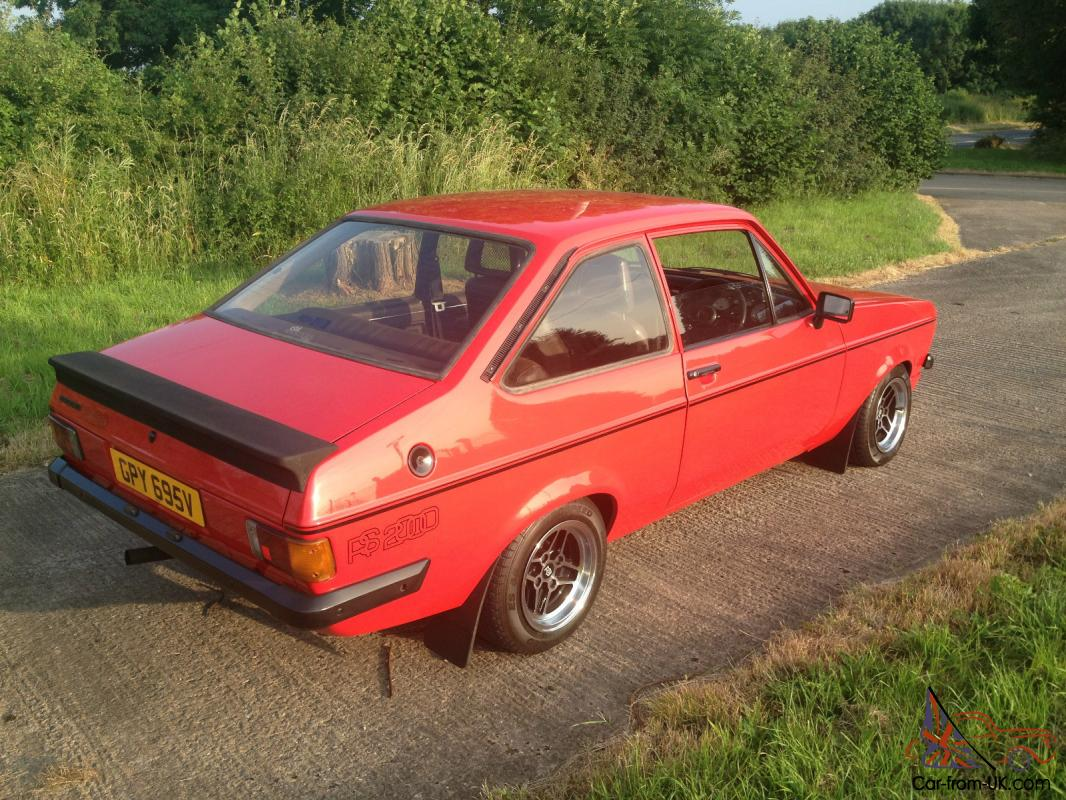 ford escort rs2000 red mk2 mexico flat front very very. Black Bedroom Furniture Sets. Home Design Ideas