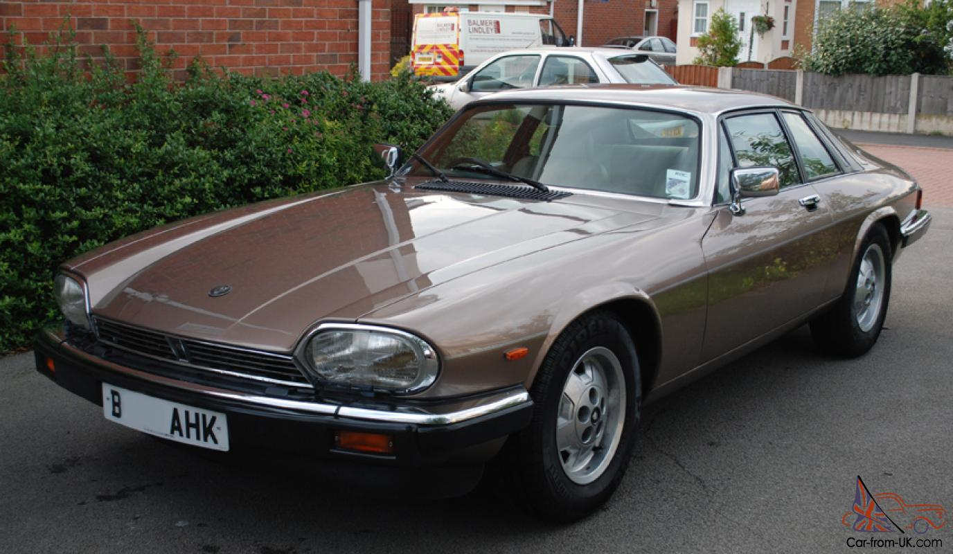 1985 Jaguar Xjs He Auto Bronze Gold In Great Condition
