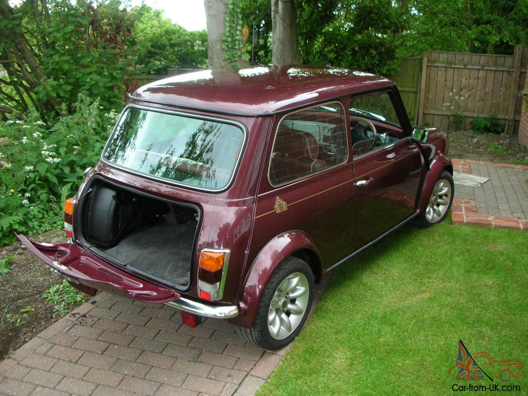 1999 rover mini 40 limited edition. Black Bedroom Furniture Sets. Home Design Ideas