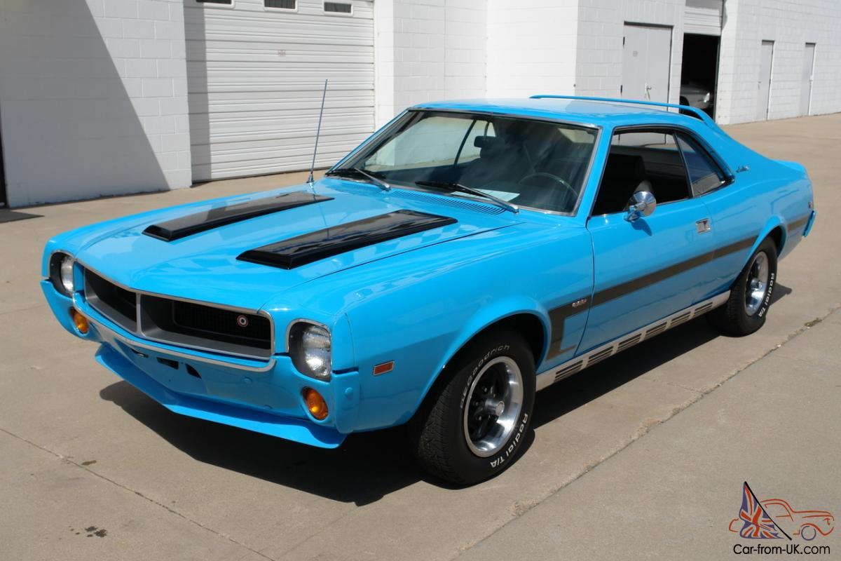 1969 AMC Javelin SST Big Bad Blue
