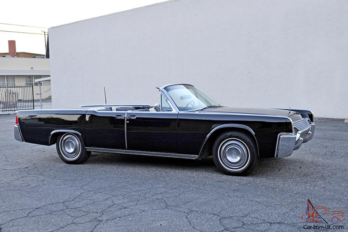 1961 lincoln continental convertible fully restored. Black Bedroom Furniture Sets. Home Design Ideas