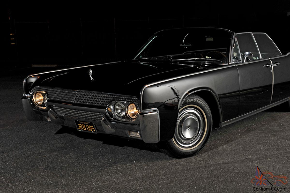 1961 Lincoln Continental Convertible Fully Restored Doors ...