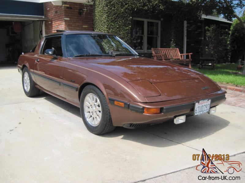 1984 Mazda RX7 GSLSE 1st Generation Excellent Custom Rebuild