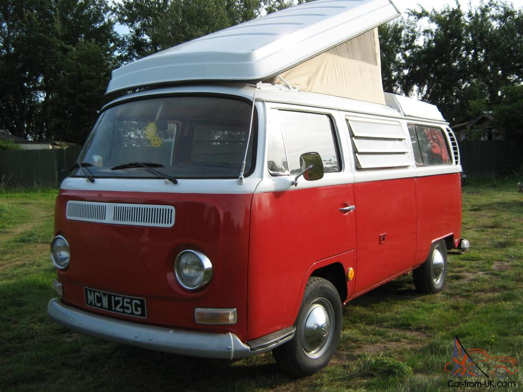 1969 volkswagen westfalia t2 campervan with pop top. Black Bedroom Furniture Sets. Home Design Ideas