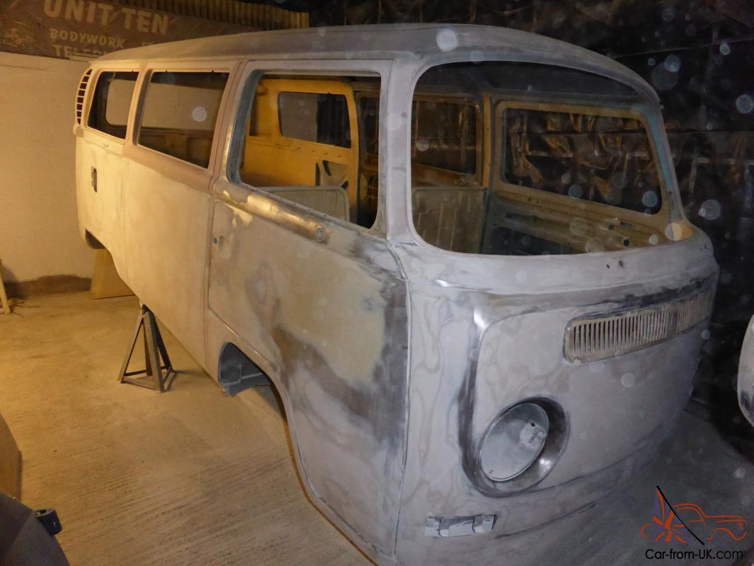 Vw 1969 Early Bay Window Camper Rhd Van Restoration