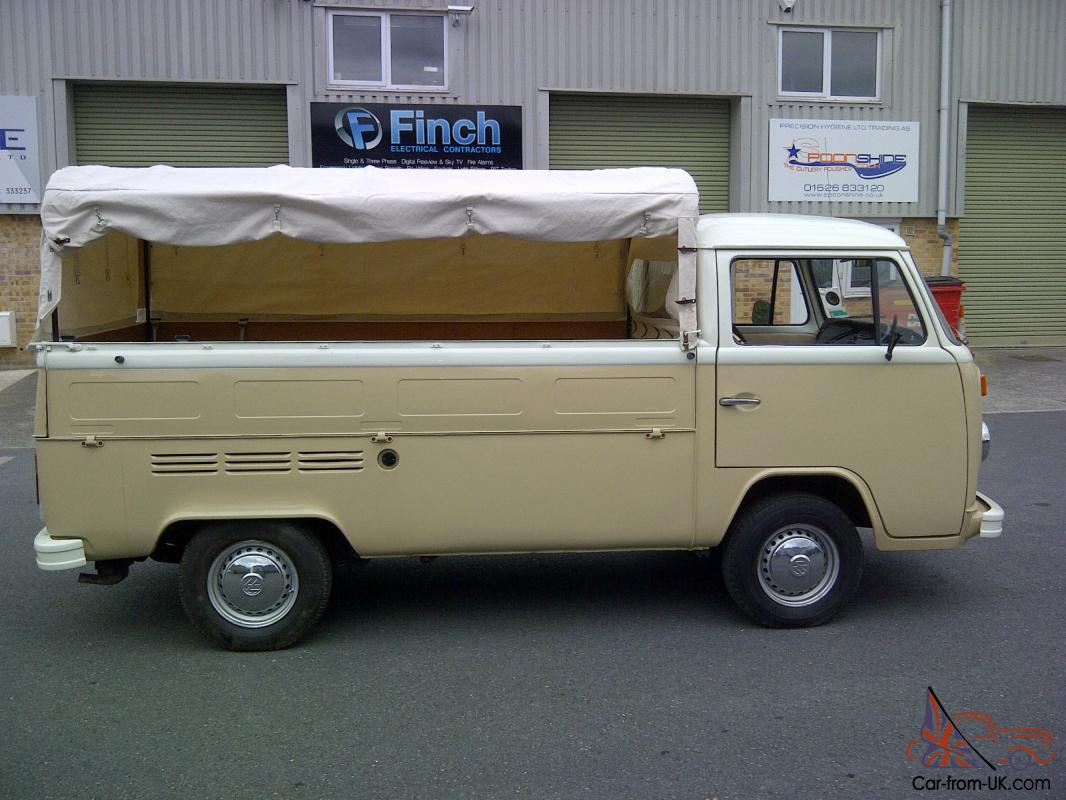 1973 volkswagen pick up t2 single cab ideal for surfers. Black Bedroom Furniture Sets. Home Design Ideas
