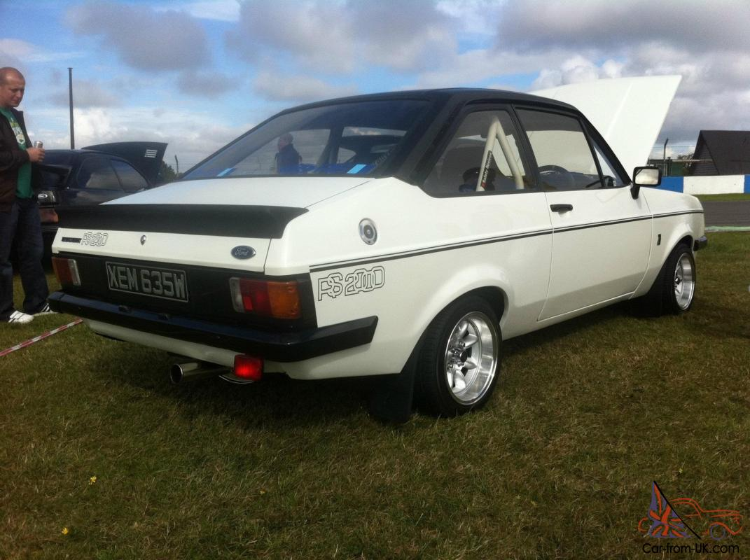 1981 ford escort rs 2000 mk2 duratec conversion 200bhp. Black Bedroom Furniture Sets. Home Design Ideas