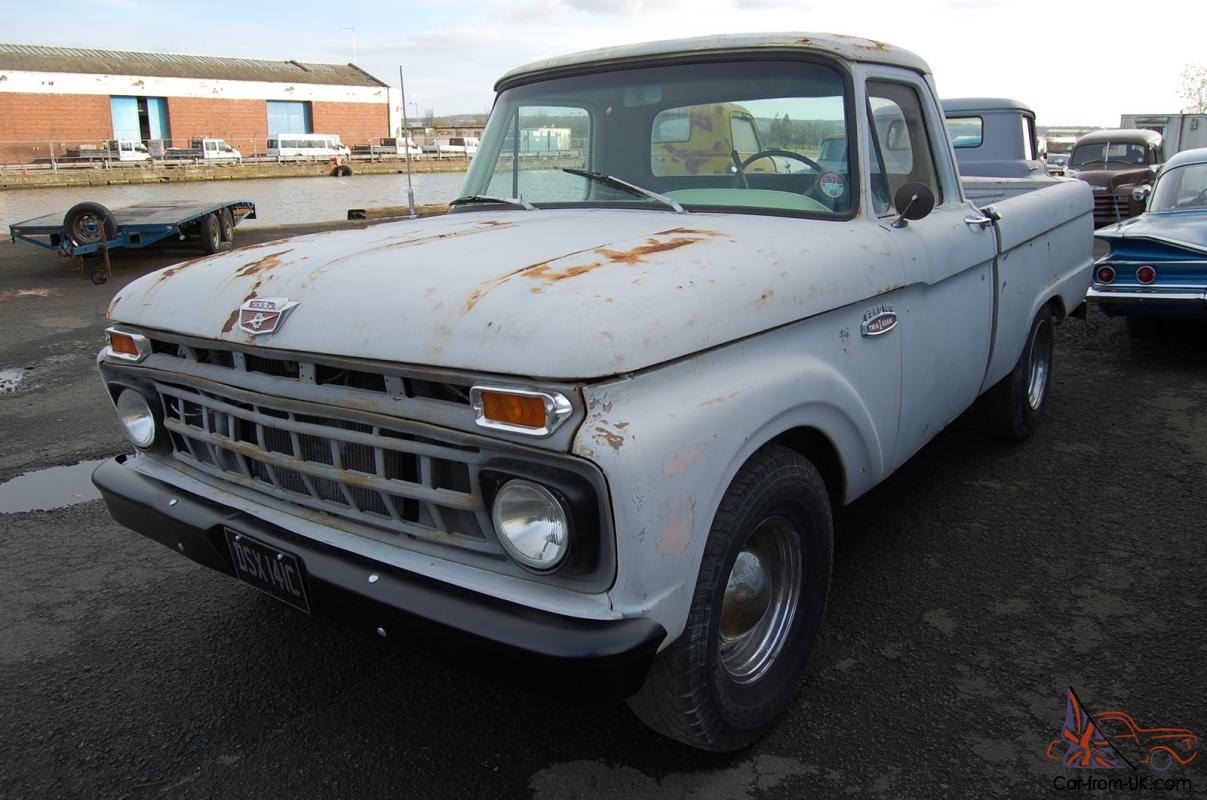 1965 ford f100 swb pickup mot uk reg ready to use. Black Bedroom Furniture Sets. Home Design Ideas