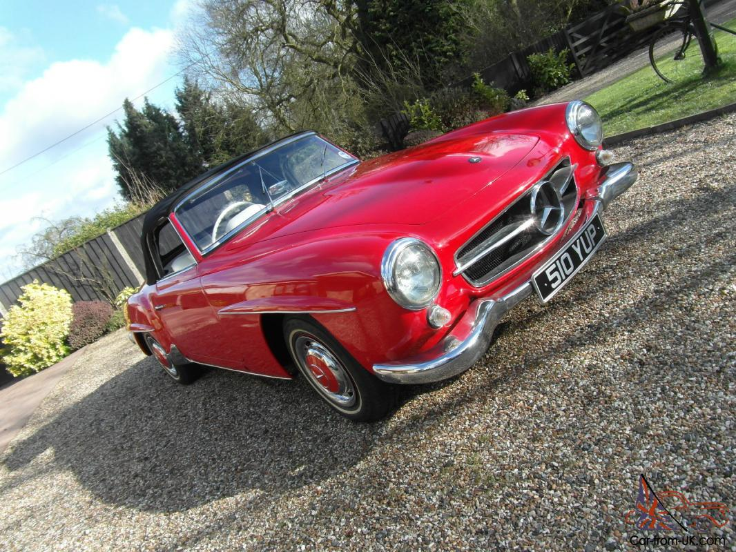 Mercedes 190 Sl Convertible Not E Type