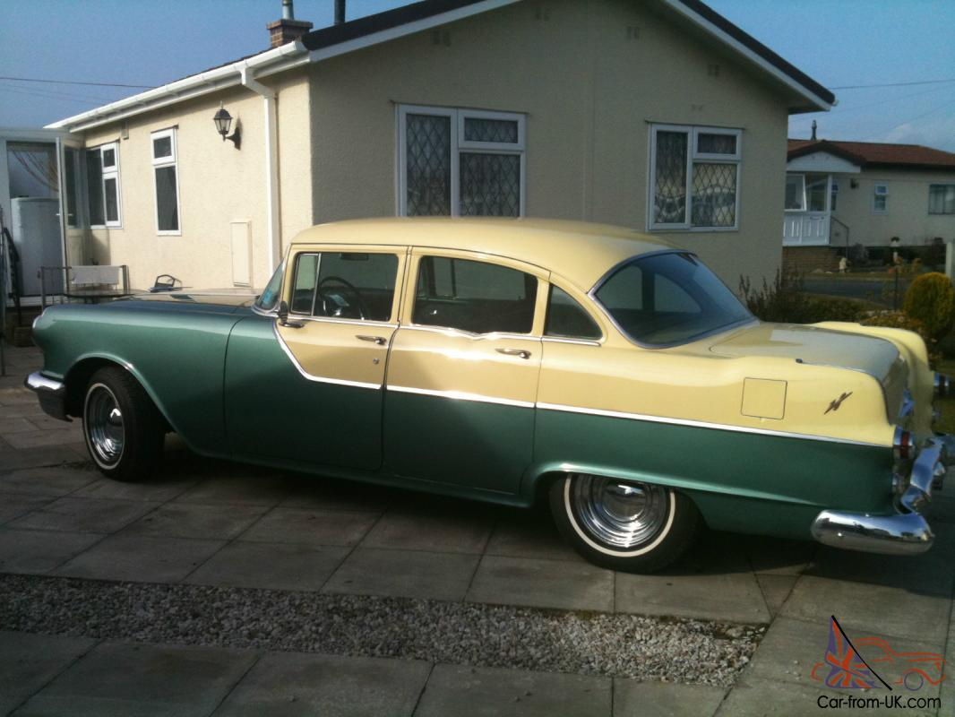 Classic american v8 pontiac chieftain 1955 stunning car for Classic and american cars for sale