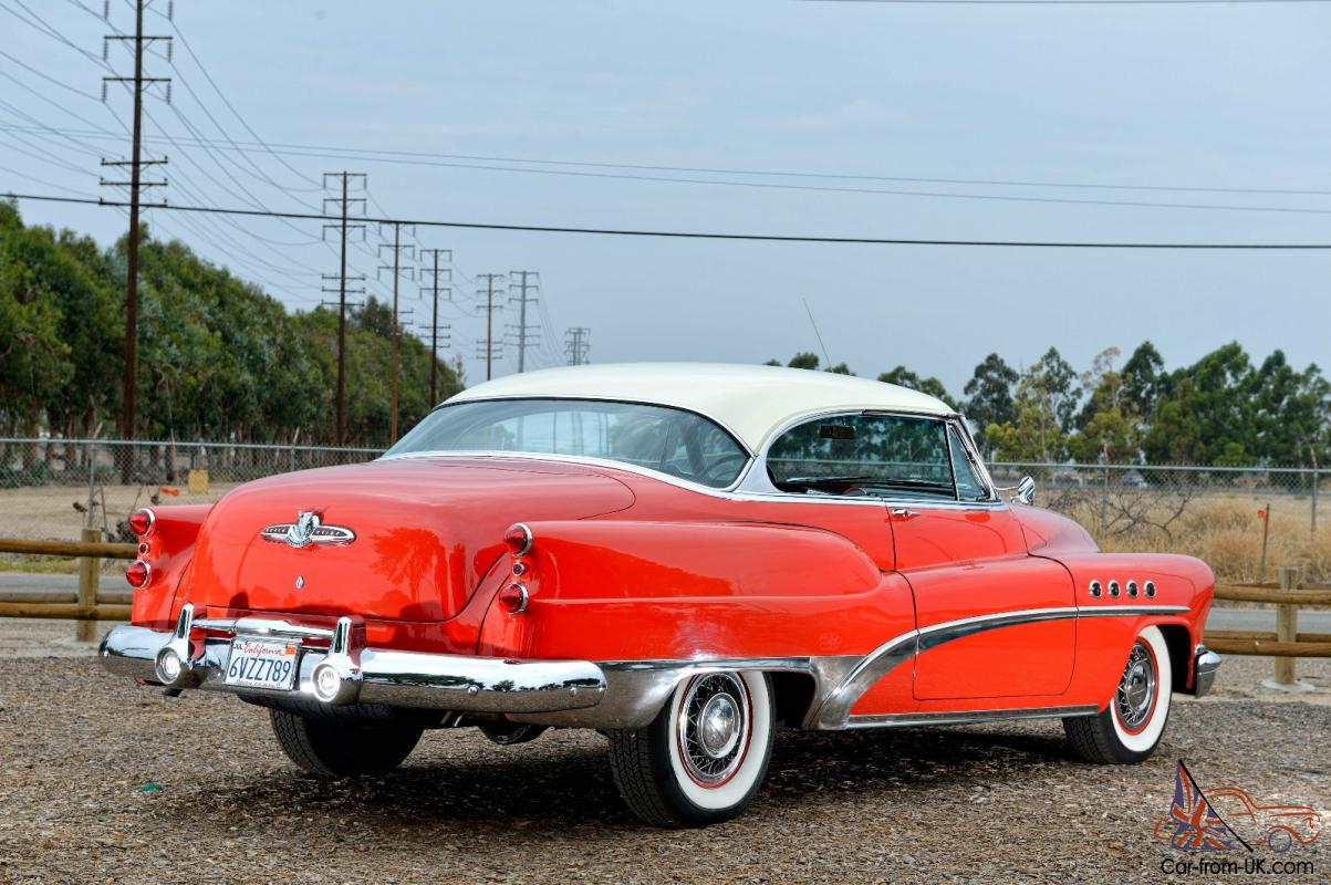 1953 buick roadmaster riviera 76 2 doors original. Cars Review. Best American Auto & Cars Review