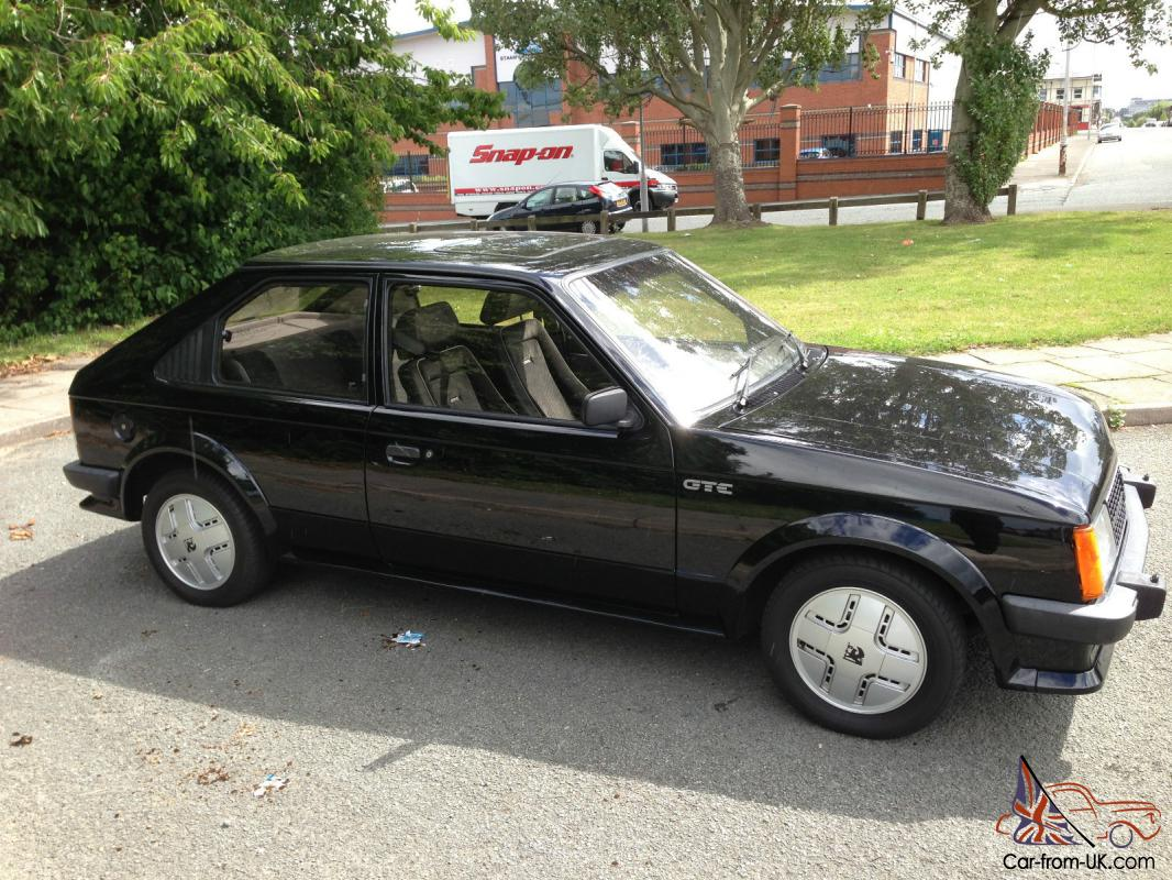 5be4dfaf15 VAUXHALL ASTRA MK1 GTE IN BLACK ONLY 74