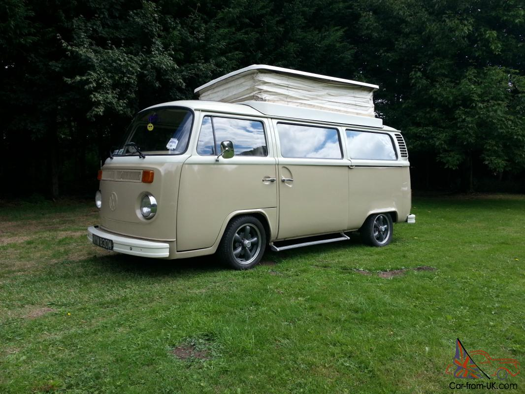 Vw Camper Bay T2 Devon Rhd Savannah Beige