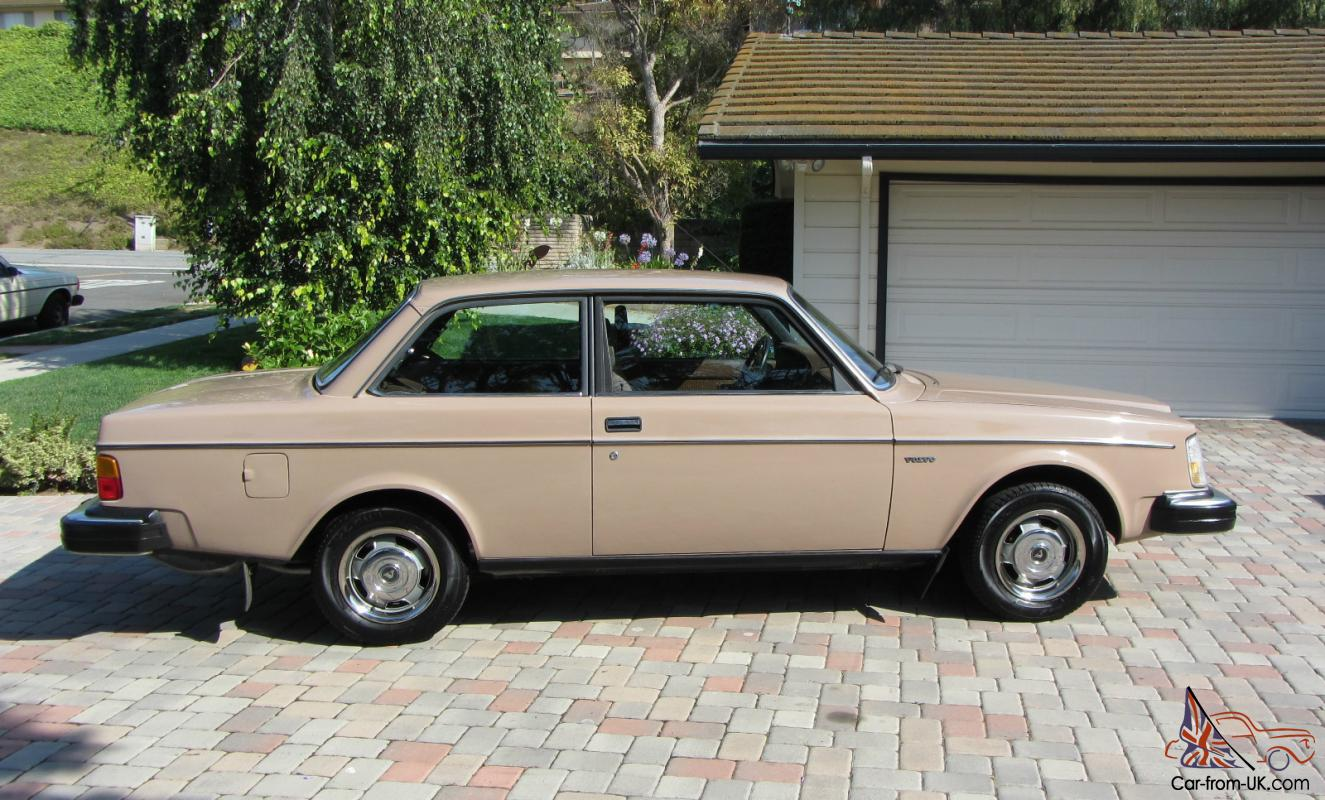 1981 Volvo 242 240 Coupe Two Door Excellent Condition Fully Flame Trap Refurbished