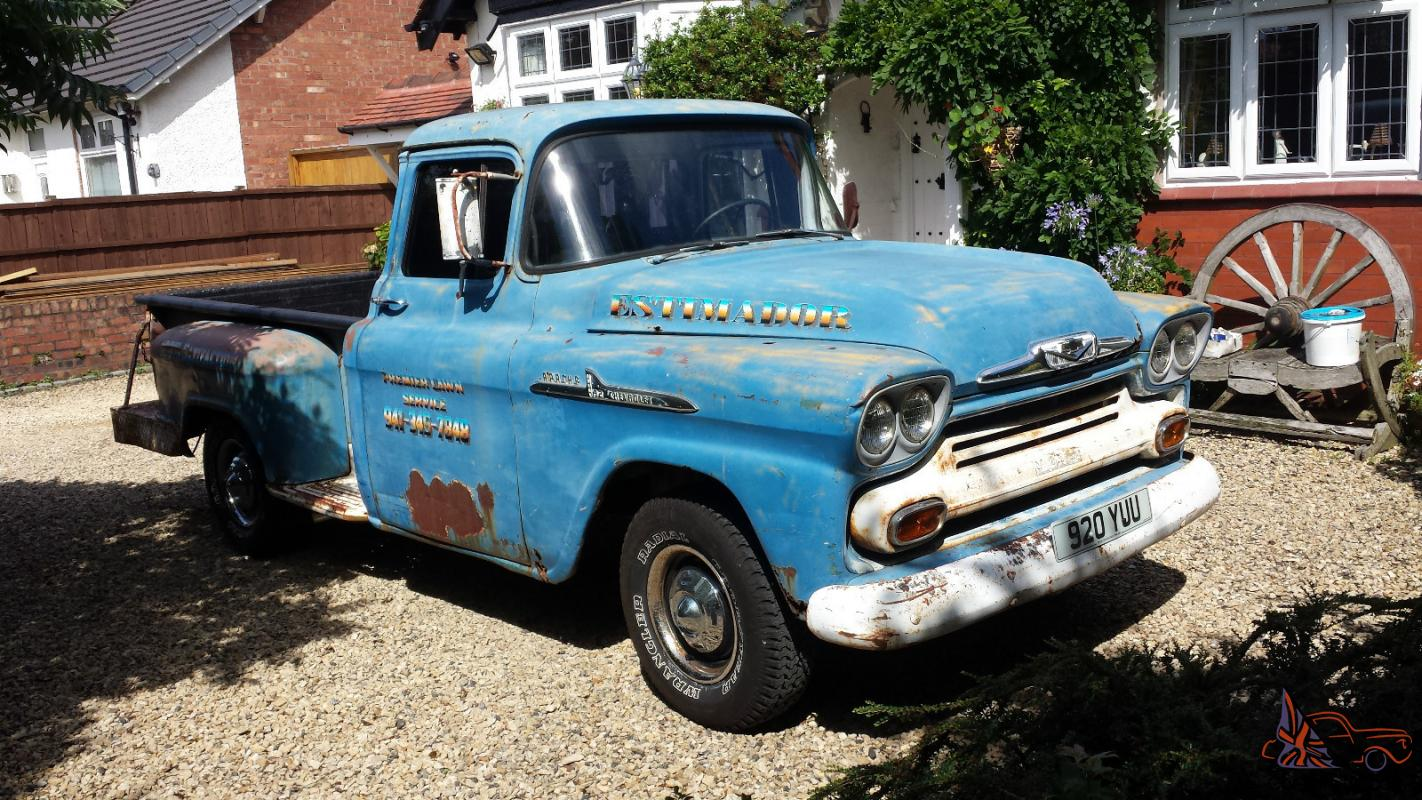 1958 Chevrolet Apache 32 Chevy Pickup Rat Rod 58 Wiring Diagram