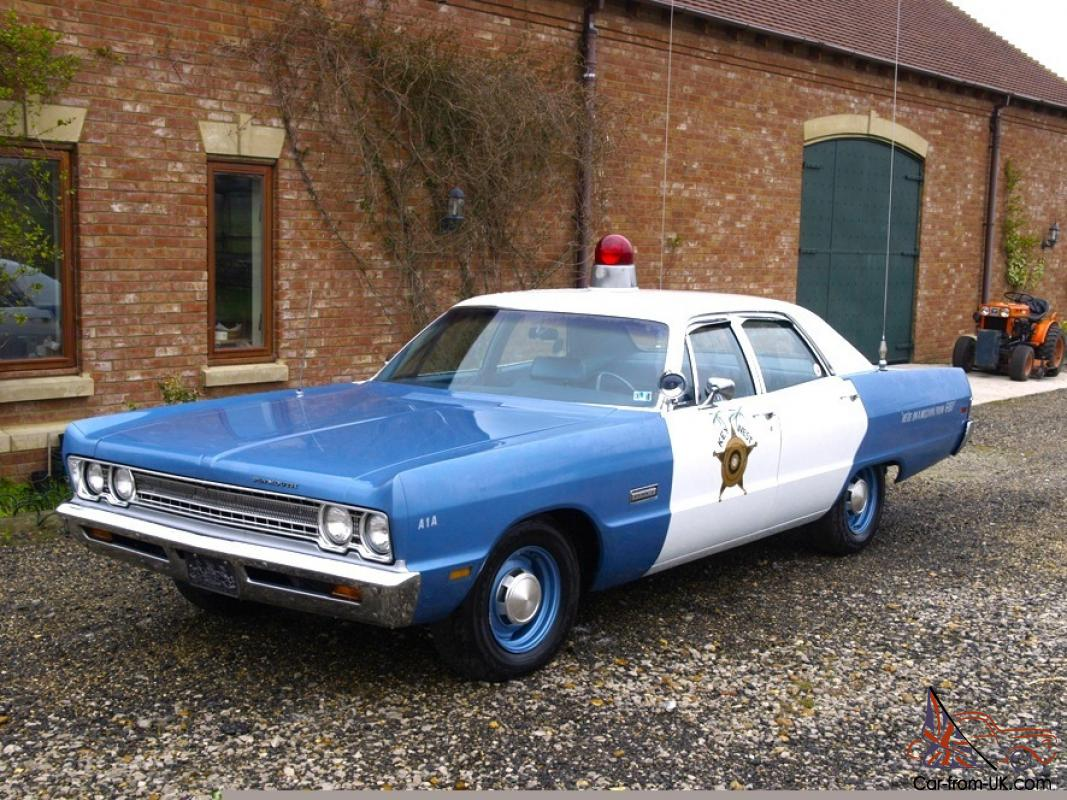 1969 Plymouth Fury Police Car 1964 Dodge