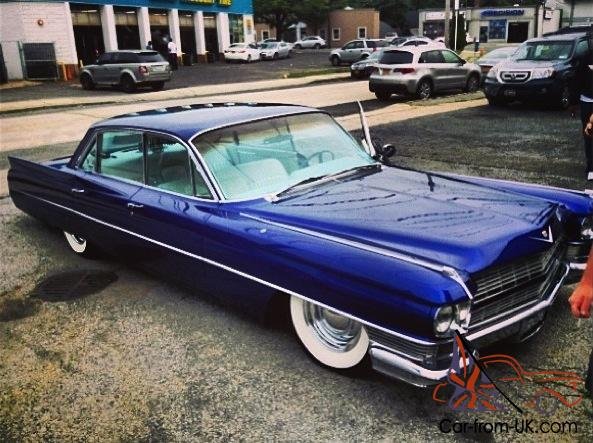 1964 CADILLAC SEDAN DEVILLE w Hydros West Coast Choppers