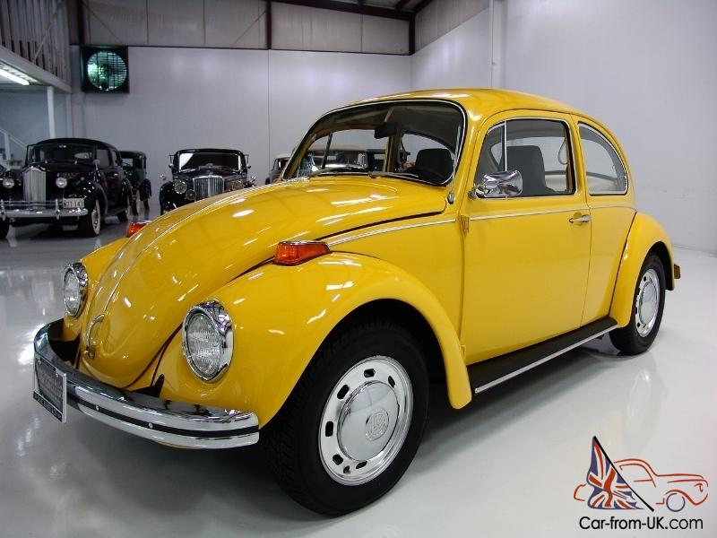 1970 Volkswagen Beetle 4 Speed 1 600 Cc Engine Stunning