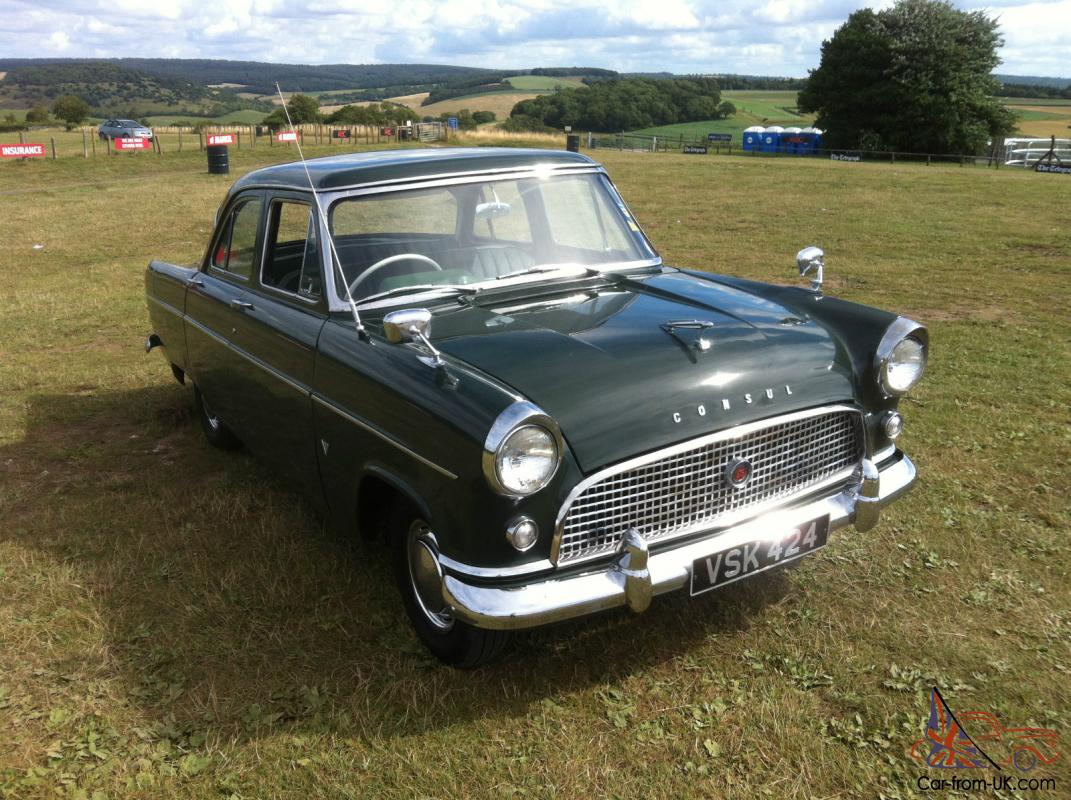 ford consul mk2 very rare 375 model superb condition for 1962. Black Bedroom Furniture Sets. Home Design Ideas