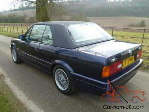 1991 j bmw e30 325i motorsport convertible stunning. Black Bedroom Furniture Sets. Home Design Ideas