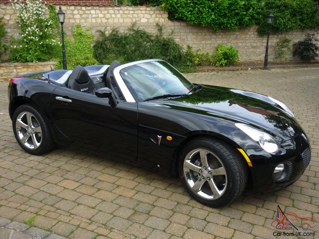 2008 pontiac solstice gxp roadster only 1100 miles for sale. Black Bedroom Furniture Sets. Home Design Ideas