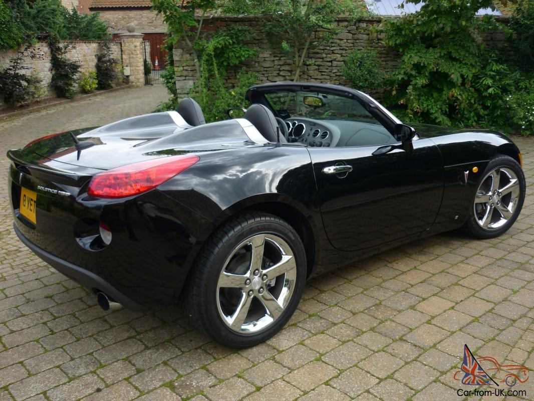 2008 pontiac solstice gxp roadster only 1100 miles. Black Bedroom Furniture Sets. Home Design Ideas