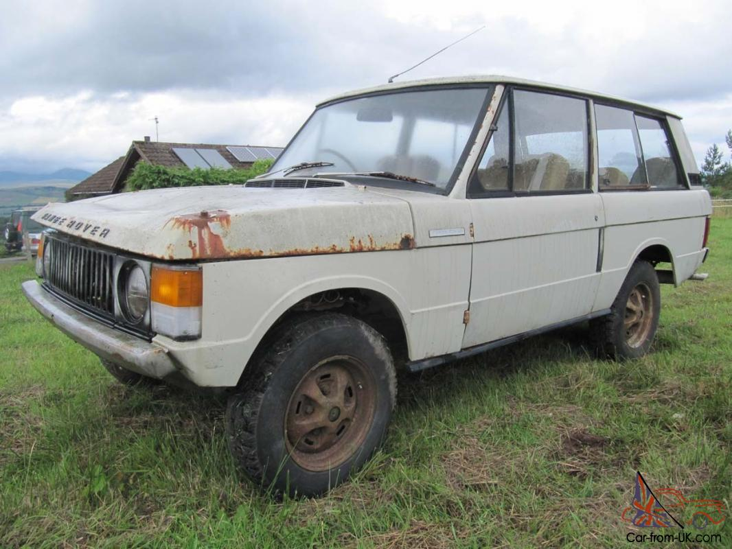 Range Rover 1972 Suffix A Barn Find For Full Restoration Low Owneriles