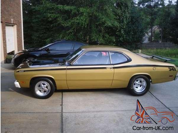 1971 plymouth duster 493 automatic rwd gold. Black Bedroom Furniture Sets. Home Design Ideas