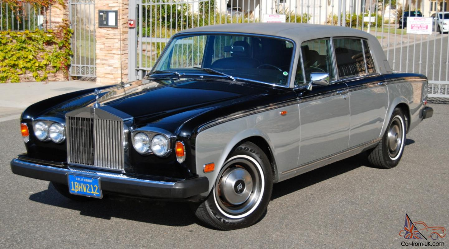 1980 rolls royce silver wraith ii only year w fuel injection lwb excellent. Black Bedroom Furniture Sets. Home Design Ideas