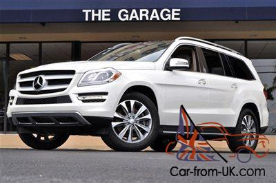2013 MERCEDES BENZ GL450 4MATIC P 2 PKG,REAR SEAT ENT,PANORAMA SUNROOF  WHITE/TAN