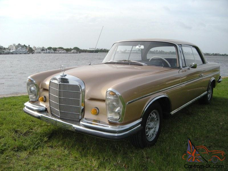 1965 mercedes benz 300se coupe w112 manual with sunroof for Mercedes benz 300se for sale