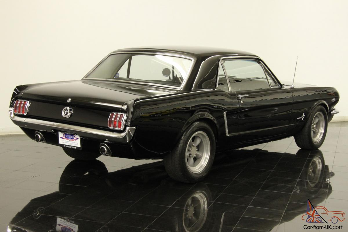 1964 1 2 Ford Mustang K Code Coupe Numbers Matching 289 V8 4 Sd