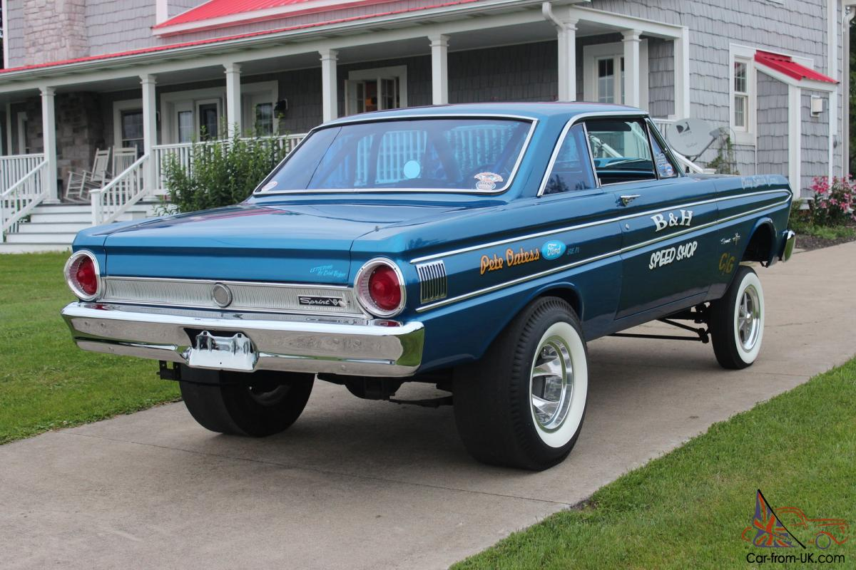1964 ford falcon sprint gasser rust free