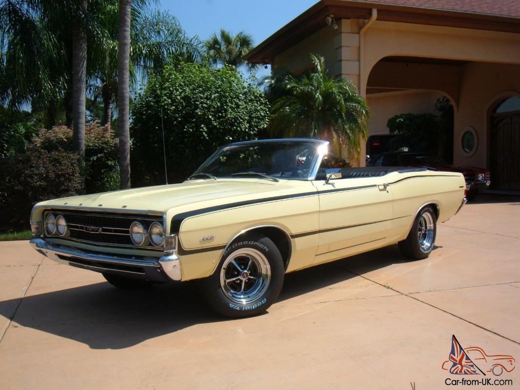 1968 Ford Torino Gt Convertible Auto 390 4v Rare One Of