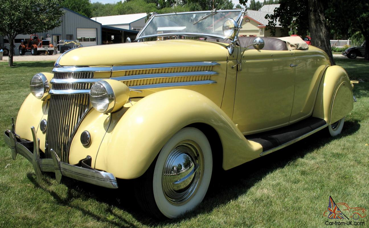 1936 Ford Roadster Convertible Classic Hot Rod
