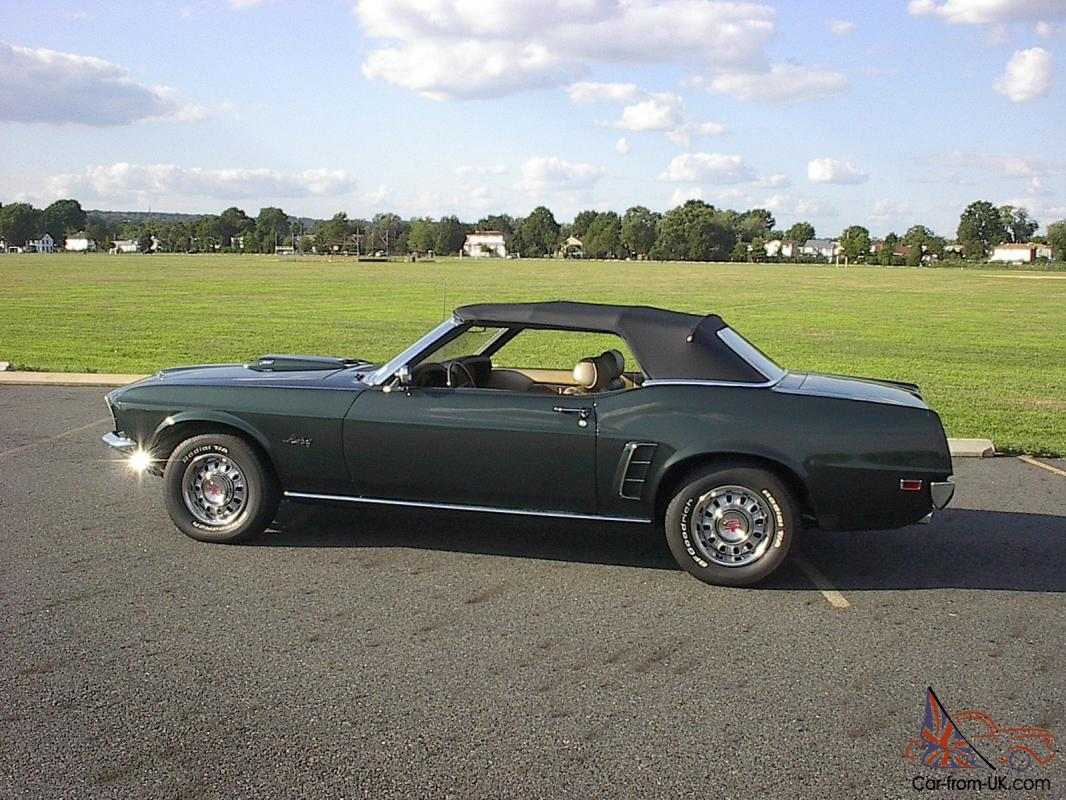 1969 mustang gt convertible 390 s code must see muscle car. Black Bedroom Furniture Sets. Home Design Ideas